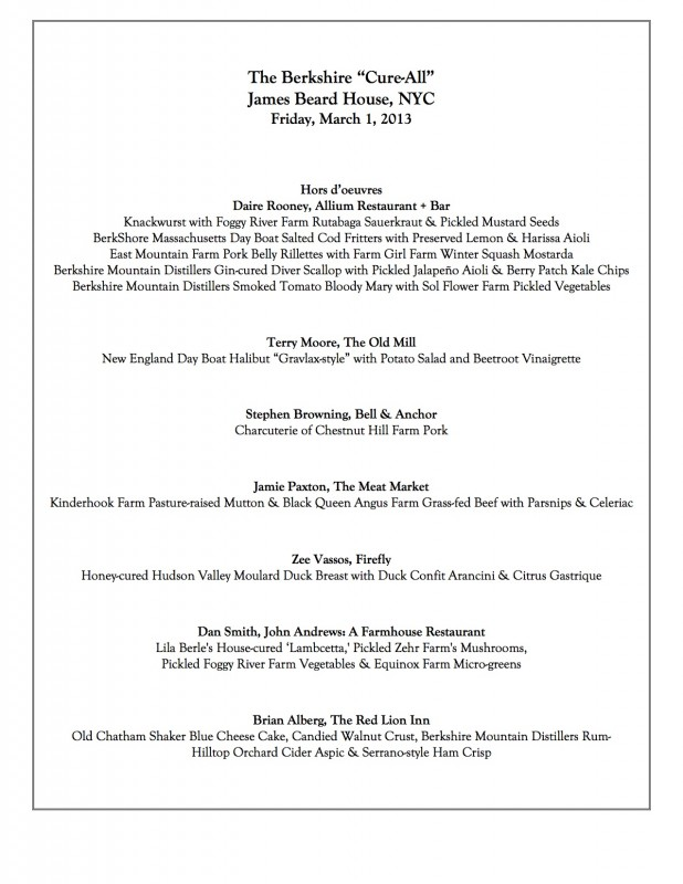 BerkshireCureAll2013_Menu